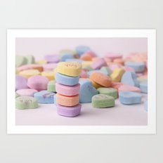 Surrounded By Love Art Print