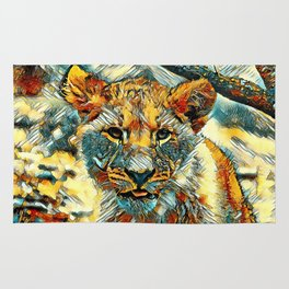 AnimalArt_Lion_20171204_by_JAMColorsSpecial Rug