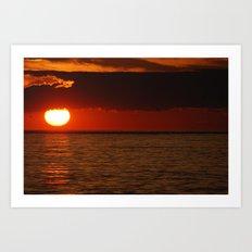 Sunset 6 Art Print