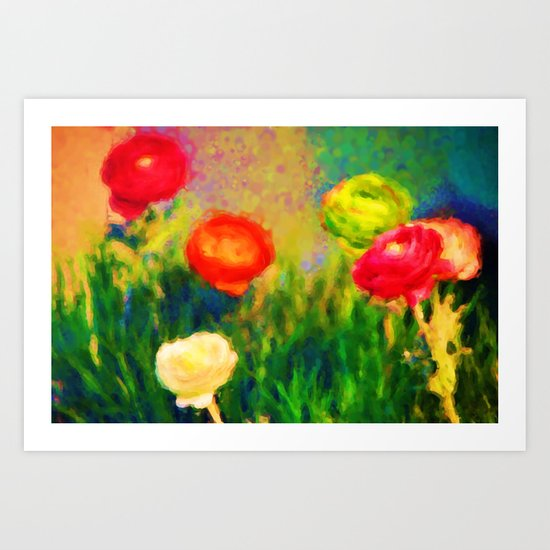 Flower Power 33 Art Print