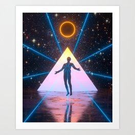 Eclipse Cult Art Print