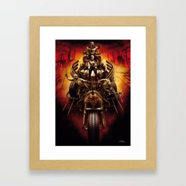 Finamore Giorgio for Mad Max Fury Draw Framed Art Print