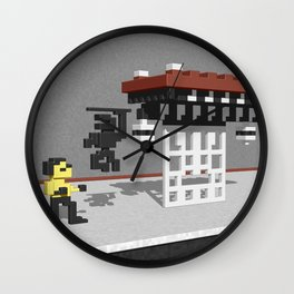 BruceLee Commodore 64 game tribute Wall Clock