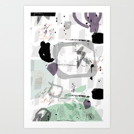 Controlled Chaos Art Print