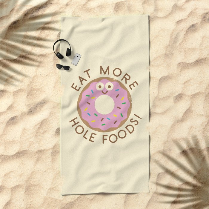 Do's and Donuts Beach Towel