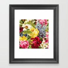 flowers profusion Framed Art Print