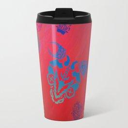 Diablada Print Travel Mug