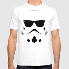 Shadetrooper White MEDIUM Mens Fitted Tee