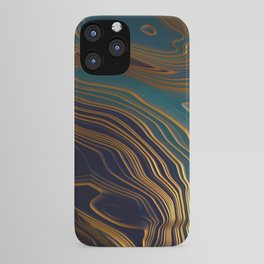 Peacock Ocean iPhone Case