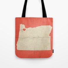 Portland, Oregon Tote Bag
