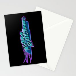 kam racing Stationery Cards