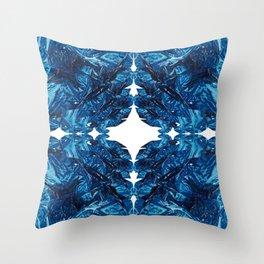 Ocean Imprint Throw Pillow