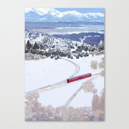 One winter day Canvas Print