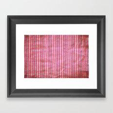 texture Framed Art Print