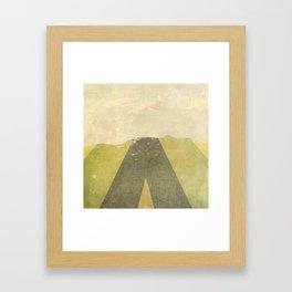 Patterned Horizon Framed Art Print