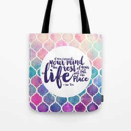 Correct Your Mind Tote Bag