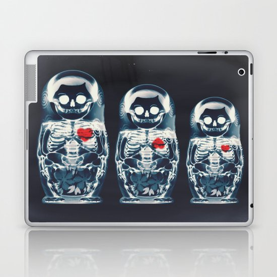 Nesting Doll X-Ray Laptop & iPad Skin