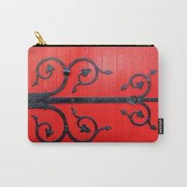 Hinge on a Red Door Carry-All Pouch