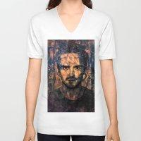 jesse pinkman V-neck T-shirts featuring Jesse Pinkman by Sirenphotos