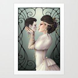 Bride of Death Art Print