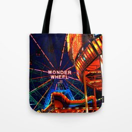 Coney Island, Baby Tote Bag