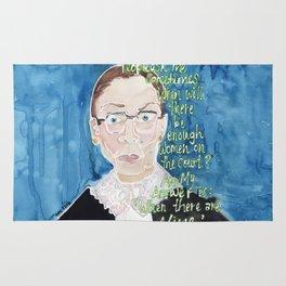 Ruth Bader Ginsberg Rug