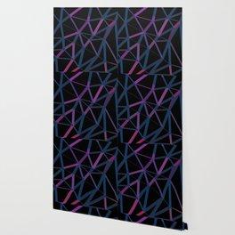 3D Futuristic GEO Lines Wallpaper
