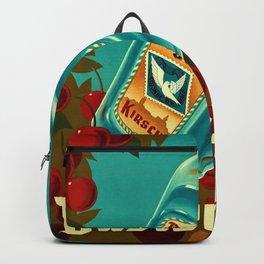 1935 Vintage Balser-Dybli Kirsch Liquor Advertisement Poster Backpack