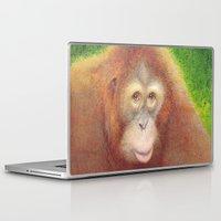 monkey Laptop & iPad Skins featuring Monkey by irshi
