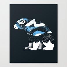 Winter Bear Canvas Print