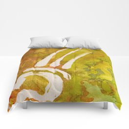 Green Autumn Passion Comforters