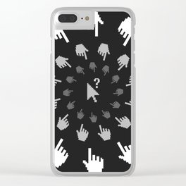 In The Spotlight Clear iPhone Case