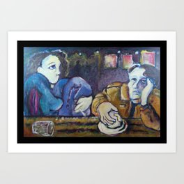 """""""A Conversation"""" Art Print"""