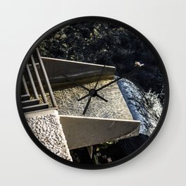 Water Chute Wall Clock