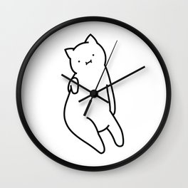 The cat you can't hate Wall Clock