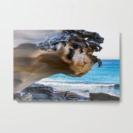 Overhang. Bronte Beach. Sydney. Australia. Metal Print