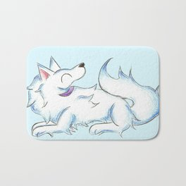 Soft White Bath Mat