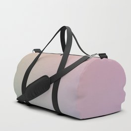 HOLOGRAPHIC - Minimal Plain Soft Mood Color Blend Prints Duffle Bag