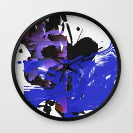 Visitations II Wall Clock