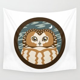 Northern Saw-whet Owl Wall Tapestry
