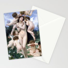 The Return of Spring by Bouguereau 1886 Stationery Cards