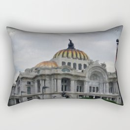 bellas artes Rectangular Pillow