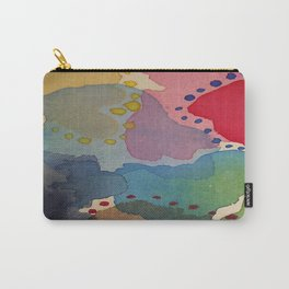 Abstract Mini #13 Carry-All Pouch
