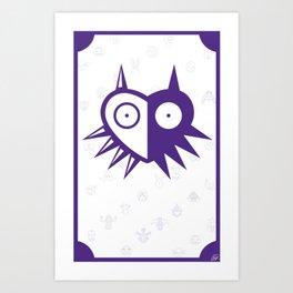 The Masks Art Print
