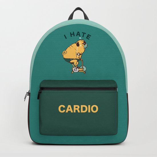 I Hate Cardio Backpack