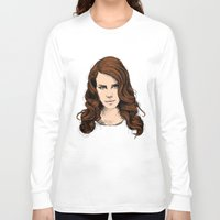 lana Long Sleeve T-shirts featuring LANA. by paintparamore