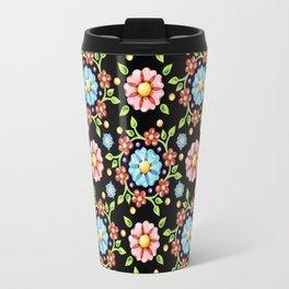 Millefiori Pinwheel Pattern Travel Mug