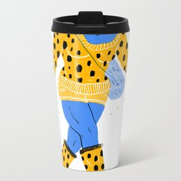 Stargazer Girl Metal Travel Mug