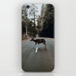 Deer Crossing / Yosemite, California iPhone Skin