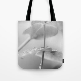 the art of peace (black and white) Tote Bag